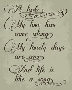 Etta James - At Last... one of my all time favorite love songs