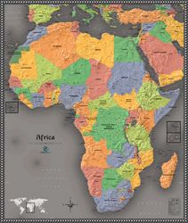 maps of Africa -- expensive but BIG