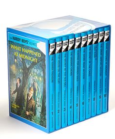 The Hardy Boys 10-book boxed set on sale
