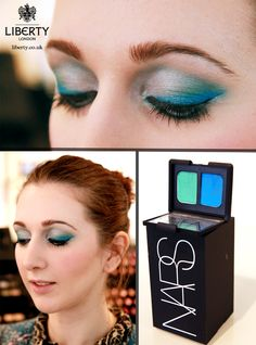Make a bold statement this season and ignite your beauty using bright neon hues with Nars' Mad Mad World eyeshadow