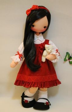 felt dolls, linda, boneca, fidelina dollssoul