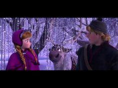 「アナと雪の女王」予告編 <------ CANT WAIT