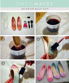 Reutiliza tus zapatos viejos