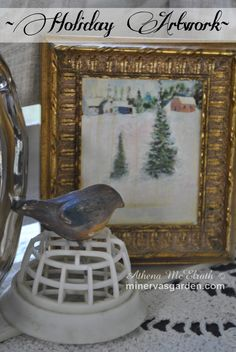 Minerva's Garden:  Holiday Artwork