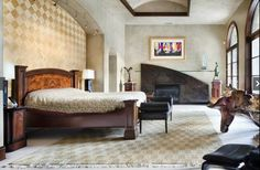 Master Suite - Tuscan style villa with a contemporary flair...