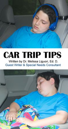 Car Trip Tips: Suggestions from our special needs consultant Dr. Melissa Liguori, Ed. D.