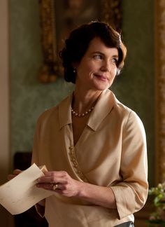 Countess of Grantham, Cora was thrilled to receive news that Sybil was expecting their first grandchild. Loyal to Robert in all things, she wants to persuade him to accept Sybil's marriage and would love to welcome Branson to Mary's wedding. Cora is less afraid of the changes that the future may bring to them all. The arrival of her mother, Martha, is a reminder that, despite her father's fortune, her outlook less hidebound by history, than those of the Crawleys'. Played by Elizabeth McGovern