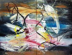 "Saatchi Online Artist Newel Hunter; Painting, ""Splash"" #art"