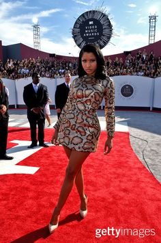 Singer Nicki Minaj attends the 2014 MTV Video Music Awards at The Forum on August 24, 2014 in Inglewood, California. (Photo by Larry Busacca/Getty Images for MTV)