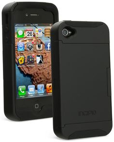 ThinkGeek :: Stowaway iPhone Wallet Case  $29.99