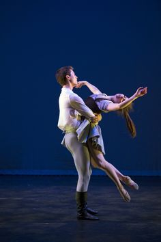 Joshua Earl and Alice Laidler in Christopher Gable's 'Cinderella'. Photo: Bill Cooper