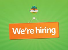 Spread the word, Gumtree is hiring, visit our blog for more information!
