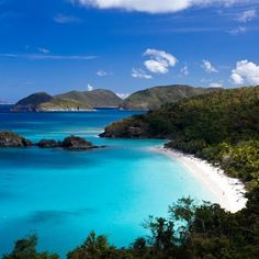 Trunk Bay on the Caribbean island of St John in the US Virgin Islands.  Where I fell in love with the Caribbean.