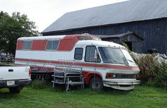 GMC Motorhome Horse Van Prototype - DSC01065 by primemover88, via Flickr