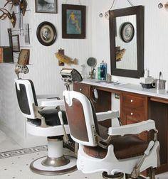 vintage salon chair, freeman sport, shop idea, shop interiors, barbershop interior design, men fashion, vintag barber, barber shop vintage, vintage men