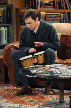 Dr Sheldon Cooper . . . what can I say?