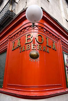 Taberna La Bola, Madrid, Spain