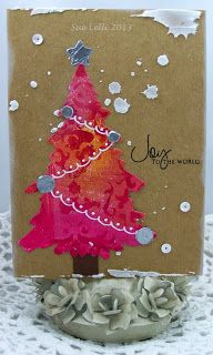 Eclectic Paperie: Joy to the World with Gelli Papers!