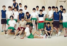 To The Beautiful You (2012) I'm not quite sure why EXO members and some random dudes are in the poster shoots. Probably some marketing strategies from SM to promote them. But anyway, the series is quite enjoyable. The best part is Lee Huyn Woo. The second best part are the Doctor, Seung Ri sunbae, and the rival. Sulli does her parts well. Minho is improving. At first I don't want to pick it up, cause I don' really have a thing for SM haha spot