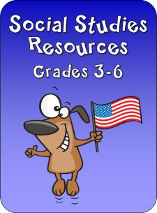 Social Studies Resources from Laura Candler's online File Cabinet - Lots of freebies!