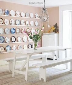 Dining Table Bench On Pinterest