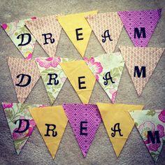 dream banners in progress