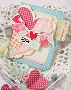 Card by Andrea Budjack  #cards #lilybee #lilybeedesign