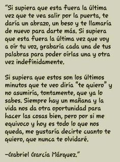 Gabriel García Márquez #frases