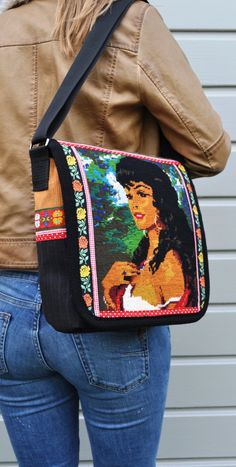 Gypsy girl messenger bag,