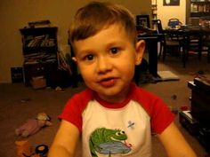 """So Cute: Three-year-old recites the poem """"Litany"""" by Billy Collins"""