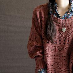 beauty women, outfits, fashion, style, knit sweaters, sweater weather, fall autumn, jumper, shirt