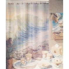 Shower and widow curtains on Pinterest