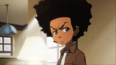 Huey Freeman from the Boondocks