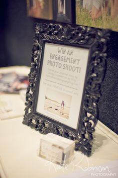 wedding show idea for a giveaway at a bridal show