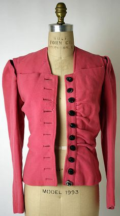 Elsa Schiaparelli Evening jacket 1939