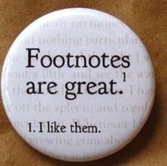 Footnotes badge