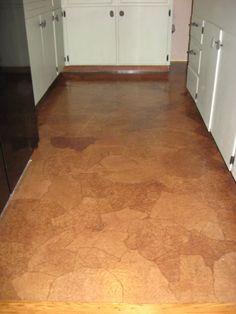 Yeowzers: DIY Paper bag flooring