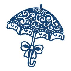 Tattered Lace Parasol Die, now available at Top Dog Dies