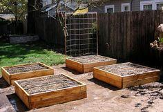 Raised Bed Garden Frame Plan by VerduraGardens on Etsy, $14.95