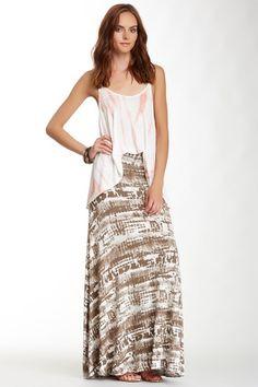 Printed Maxi Skirt by Renee C on @HauteLook