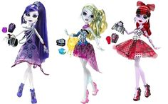 New Monster High Dolls (coming soon!)