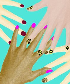 What your nail polish look says about you.