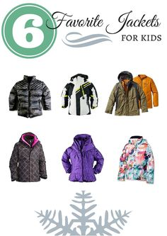 Favorite ski jackets