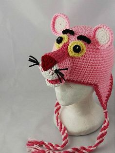pink panther... would wear this hat in rememberence of my first car.. :)