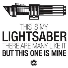 This is my lightsaber - Star Wars x Full Metal Jacket
