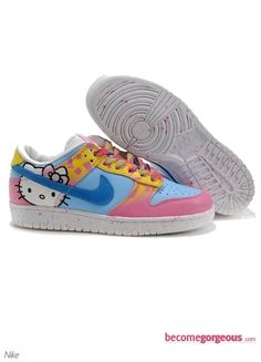 nike dunk, kitti blue, kitti sneaker, hello kitti, blue pink, pink shoe, low hello, kitti nike, hello kitty