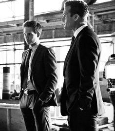 Suits: patrick j adam, gabriel macht