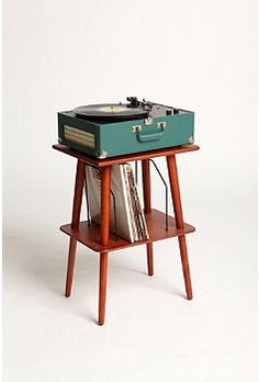 mint vintage record player!