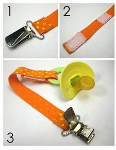 DIY soother clip