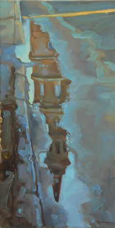 St. Phillip's Puddle, Charleston. By Shannon Smith Hughes, Anglin Smith Fine Art (http://anglinsmith.com/)